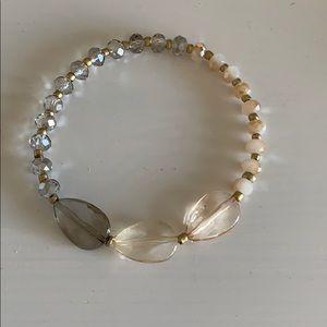 Loft pretty beaded bracelet